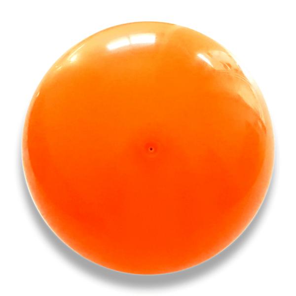 PELOTA PUBLICITARIA PVC NARANJA, pelotas con logotipo estampado, pelotas para carrozas