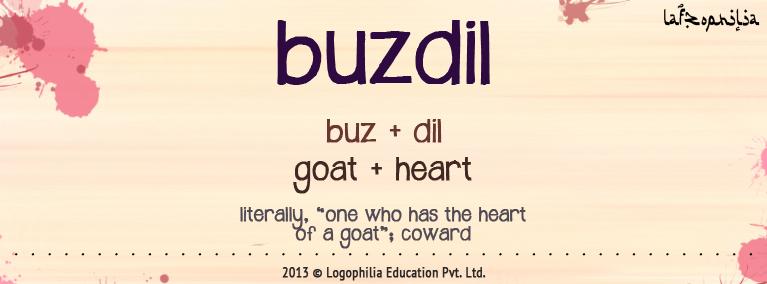 Etymology of buzdil