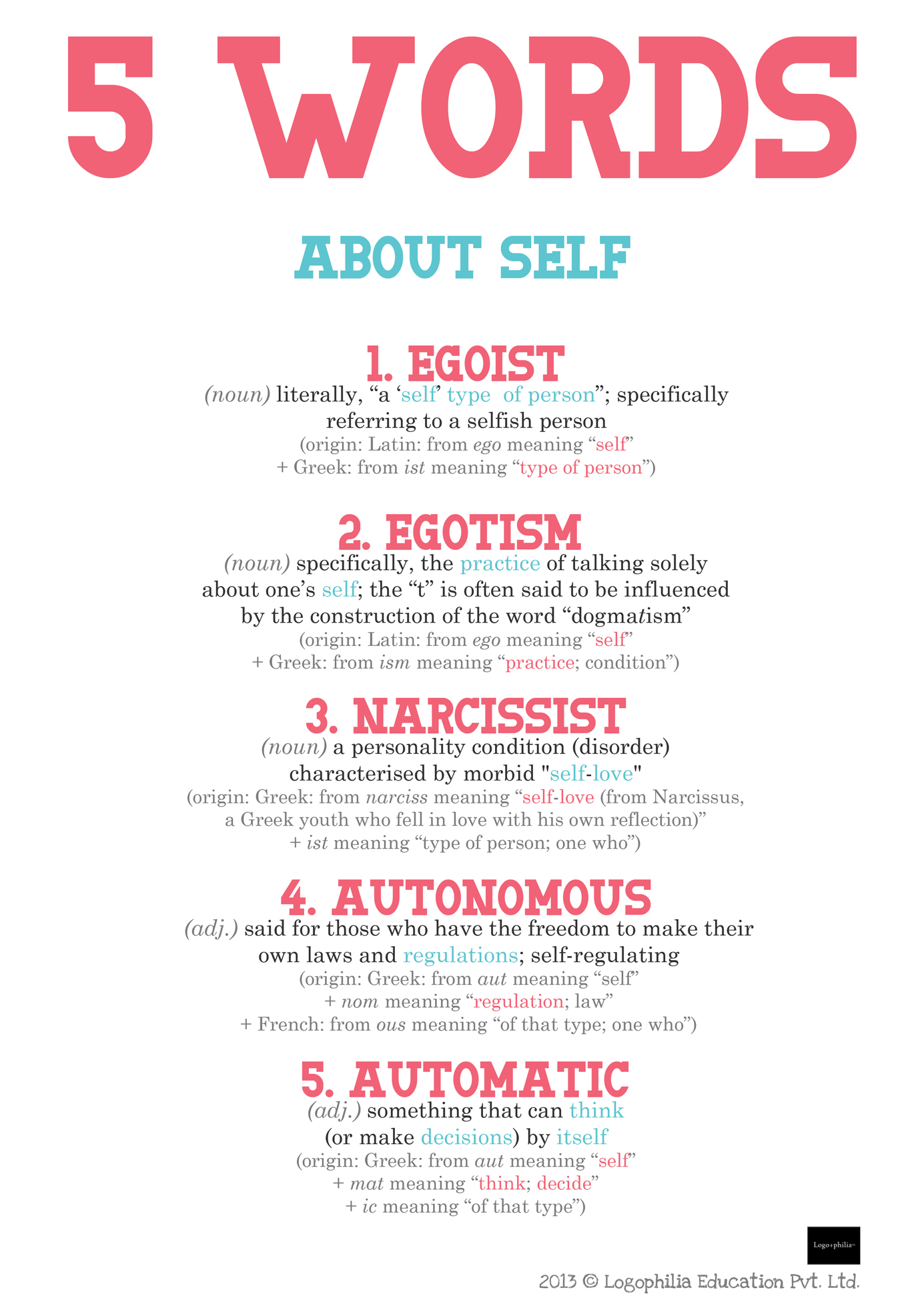 Words About Self