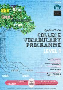 College Vocabulary Programme- Level 1