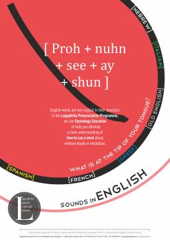 Logophilia Pronunciation Programme Logo- Version 1.0 - Dhruv - 2014