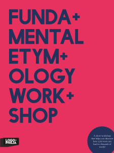 Few- Fundamental Etymology Workshop