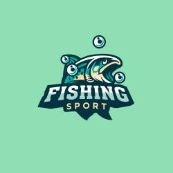 The reason why everyone loves a free logo template for fishing.