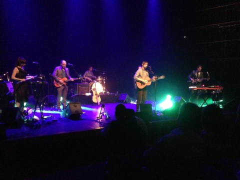 The Leisure Society at Queen Elizabeth Hall on 25 April 2013