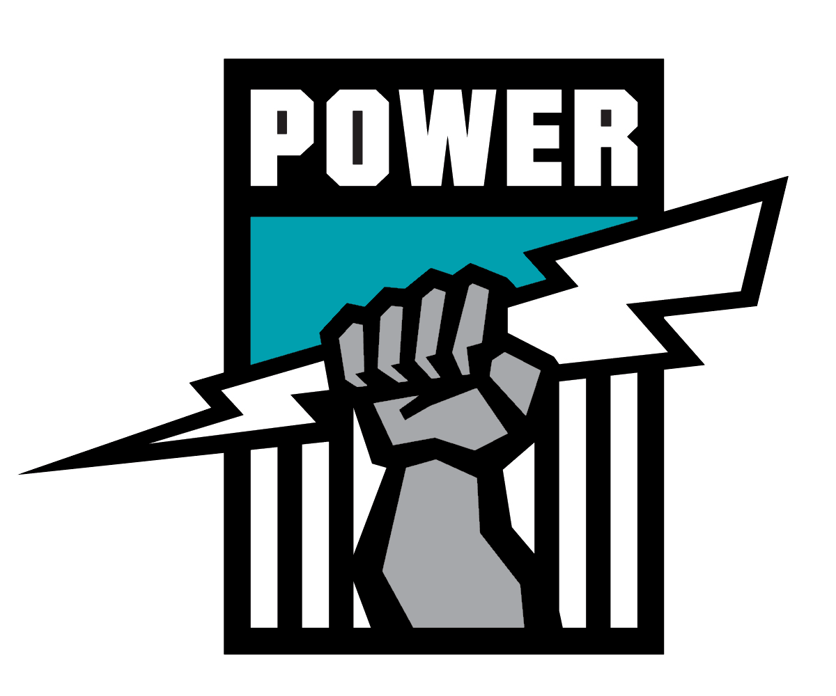 Image result for port adelaide power transparent