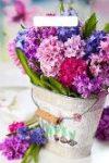 Купить оптом полиэтиленовый пакет Вальс цветов с вырубной (прорубной) ручкой от Тико
