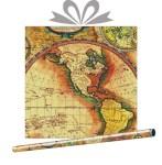 Крафт-бумага Карта, купить оптом в Санкт-Петербурге