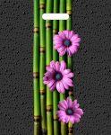 Купить оптом полиэтиленовый пакет Стебли Бамбука с прорубной (вырубной) ручкой от Тико