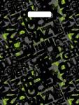 Купить оптом полиэтиленовый пакет Граффити 31x40 60 мкм с прорубной (вырубной) ручкой от Тико-Пластик