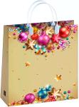 Купить оптом новогодний пакет 23х26 Белло Bello BAS 112