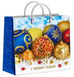 Купить оптом полиэтиленовый пакет Новогодние сокровища 30x30 150 мкм из мягкого пластика