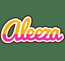 Aleeza Logo Name Logo Generator Smoothie Summer