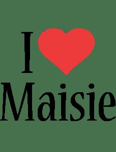 Maisie Logo Name Logo Generator I Love Love Heart