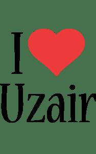 Uzair Logo Name Logo Generator I Love Love Heart
