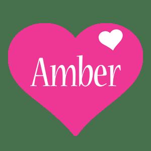Amber Logo | Name Logo Generator - I Love, Love Heart ...