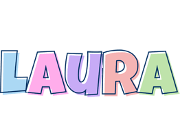 Laura Logo Name Logo Generator Candy Pastel Lager