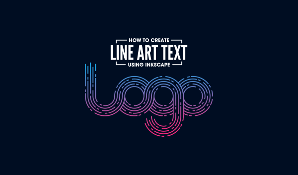 Create Line Art Logo Text with Inkscape | Logos By Nick