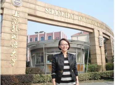 Gu Qiubei (Grace Gu), Speech Lecturer in the English College, Shanghai International Studies University