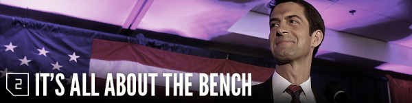 2. It's all about the bench.