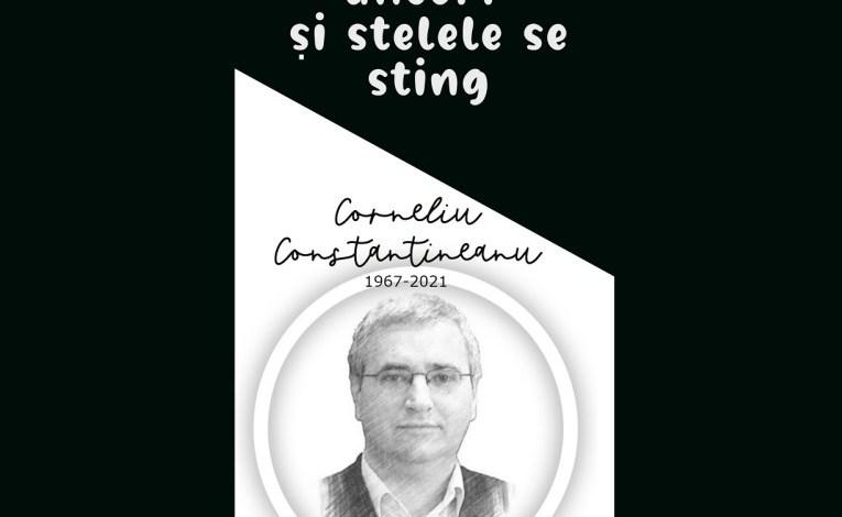 Corneliu Constantineanu sau uneori și stele se sting – de Nicolae.Geantă