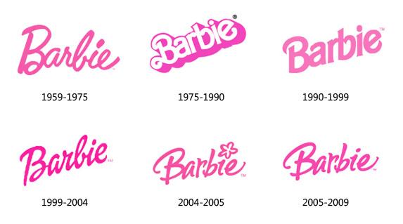 barbie_logo_evolution