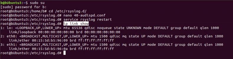Getting list of network adapters in Ubuntu