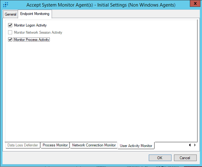 Configure Endpoint Monitoring in System Monitor Settings