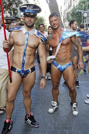 Fiesta del orgullo gay, Madrid 2013
