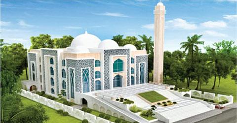 চট্টগ্রামে দেশের প্রথম মডেল মসজিদ নির্মিত হচ্ছে