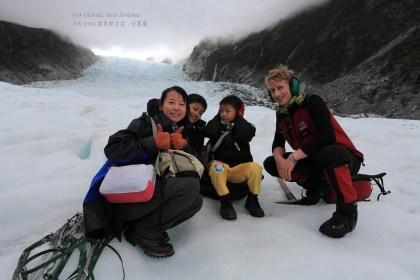 helihike on the fox glacier