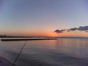 【釣行記録】2019年初釣りは運動メインで須磨浦行脚