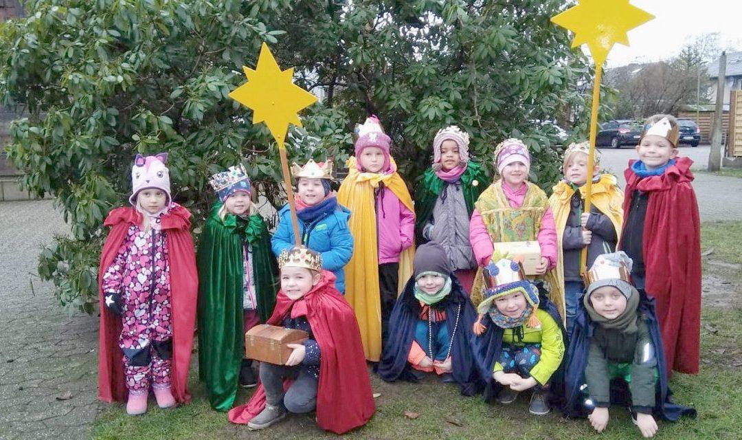Kita St. Marien bedankt sich für viele Spenden beim Dreikönigssingen