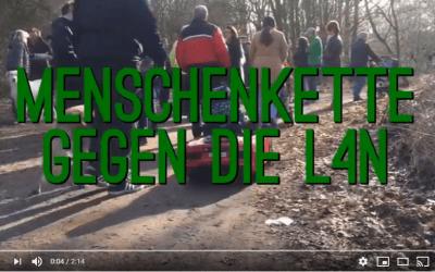L4n-Protest: Stimmen aus der Menschenkette