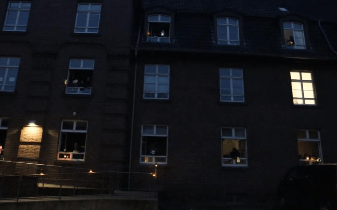 Mit Video: St. Martin-Flashmob im Ledigenheim