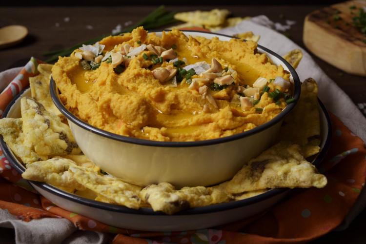 Hummus de Zanahoria