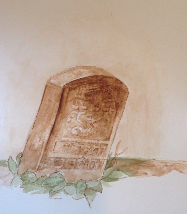 Kaddish Headstone