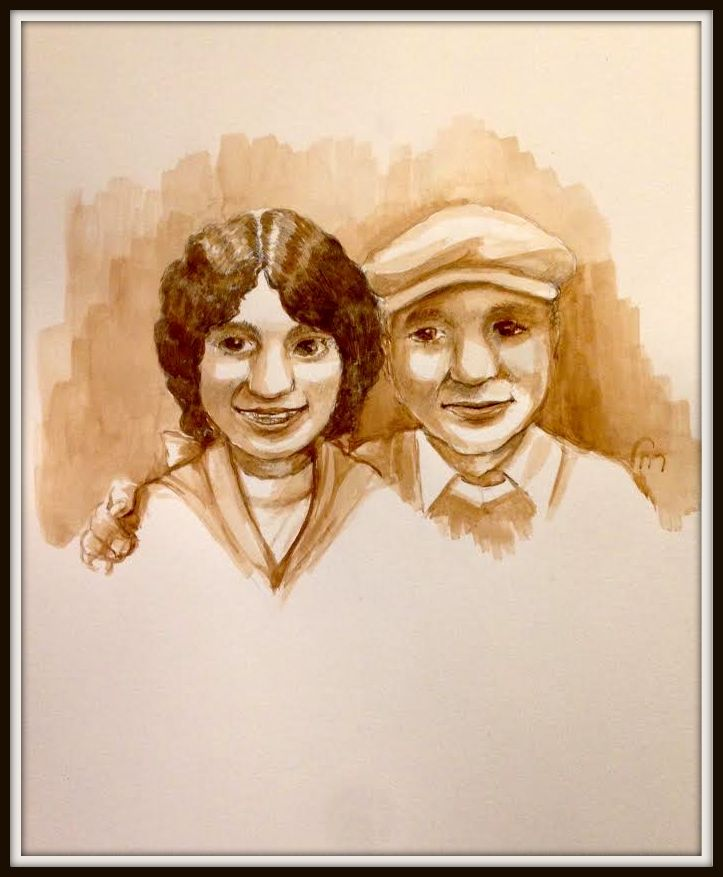 Tulschinsky Twins Framed