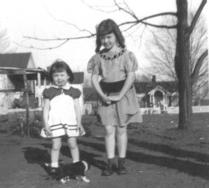 Linda and Becky 1951