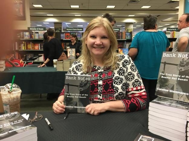 Caroline and her book