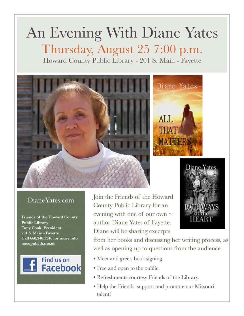 Yates author visit