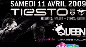 Tiesto - Mix au Queen 12042009