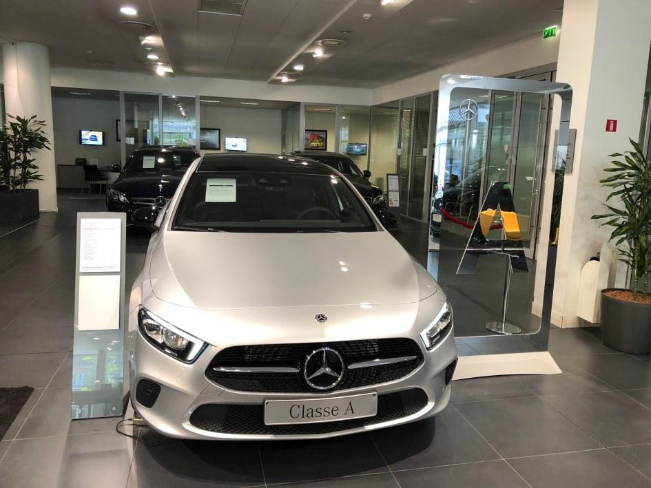 La nouvelle Mercedes Classe A. Elle en jette !