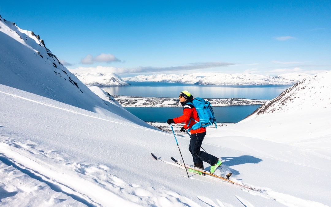 Ski touring in the Lyngen Alps