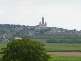 Le Puy Notre Dame viewed from a western walk