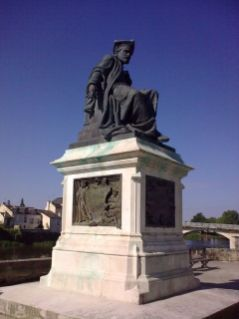 Rablais Overlooking The Vienne