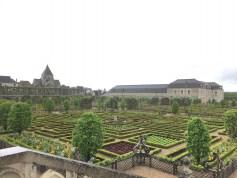 villandry garden and chateau