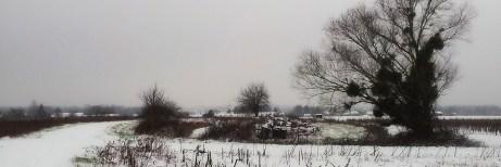 que faire quand il neige à la campagne