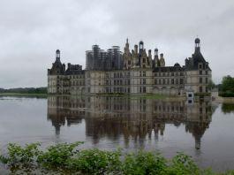 crue au château de Chambord inondation du Cosson