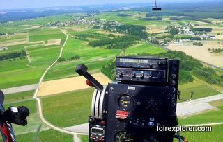 vue de la touraine vol en hélicoptère