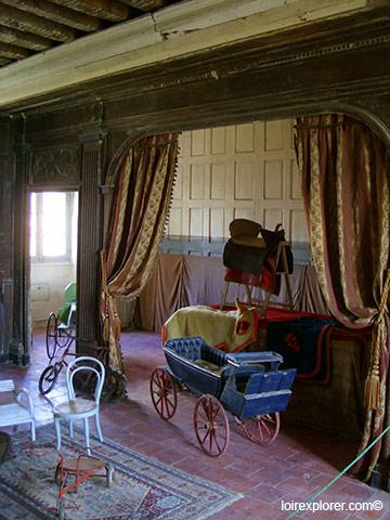 visite du Château de Selles sur Cher Pavillon Doré avec LoireXplorer
